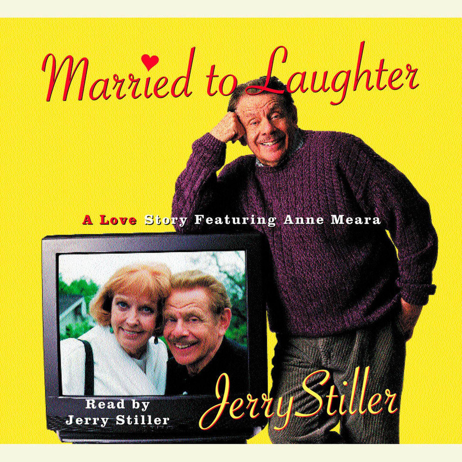 Printable Married to Laughter: A Love Story Featuring Anne Mora Audiobook Cover Art