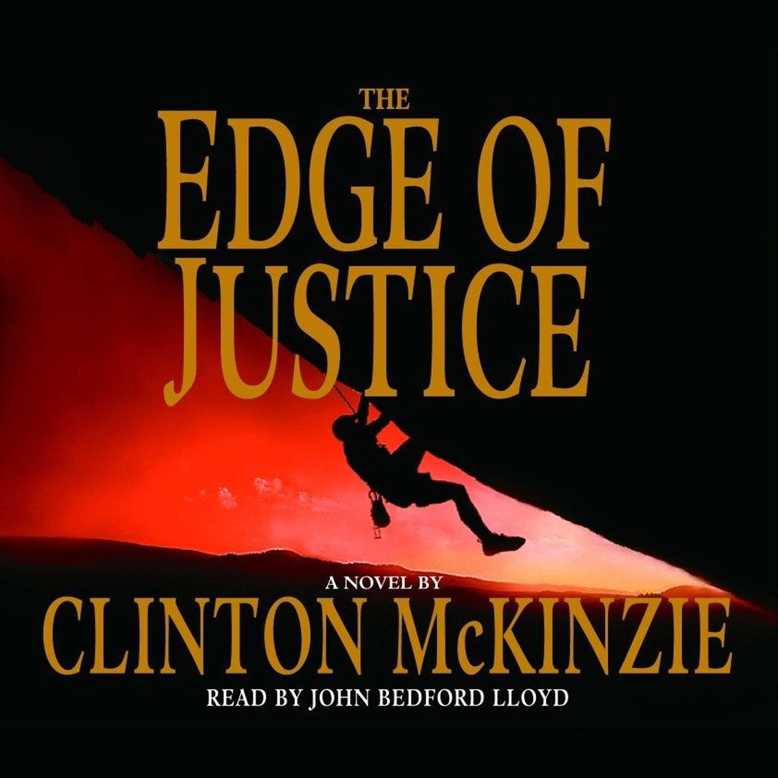 Printable The Edge of Justice Audiobook Cover Art