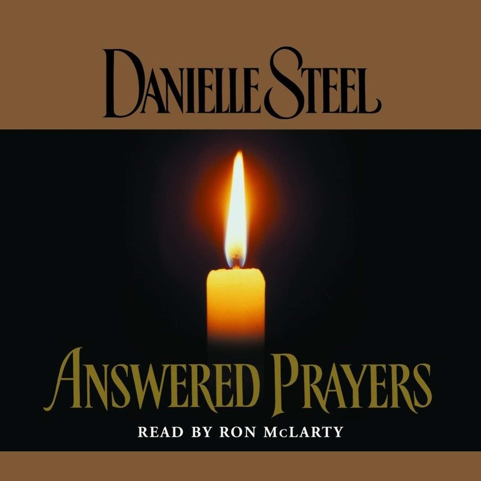 Printable Answered Prayers Audiobook Cover Art