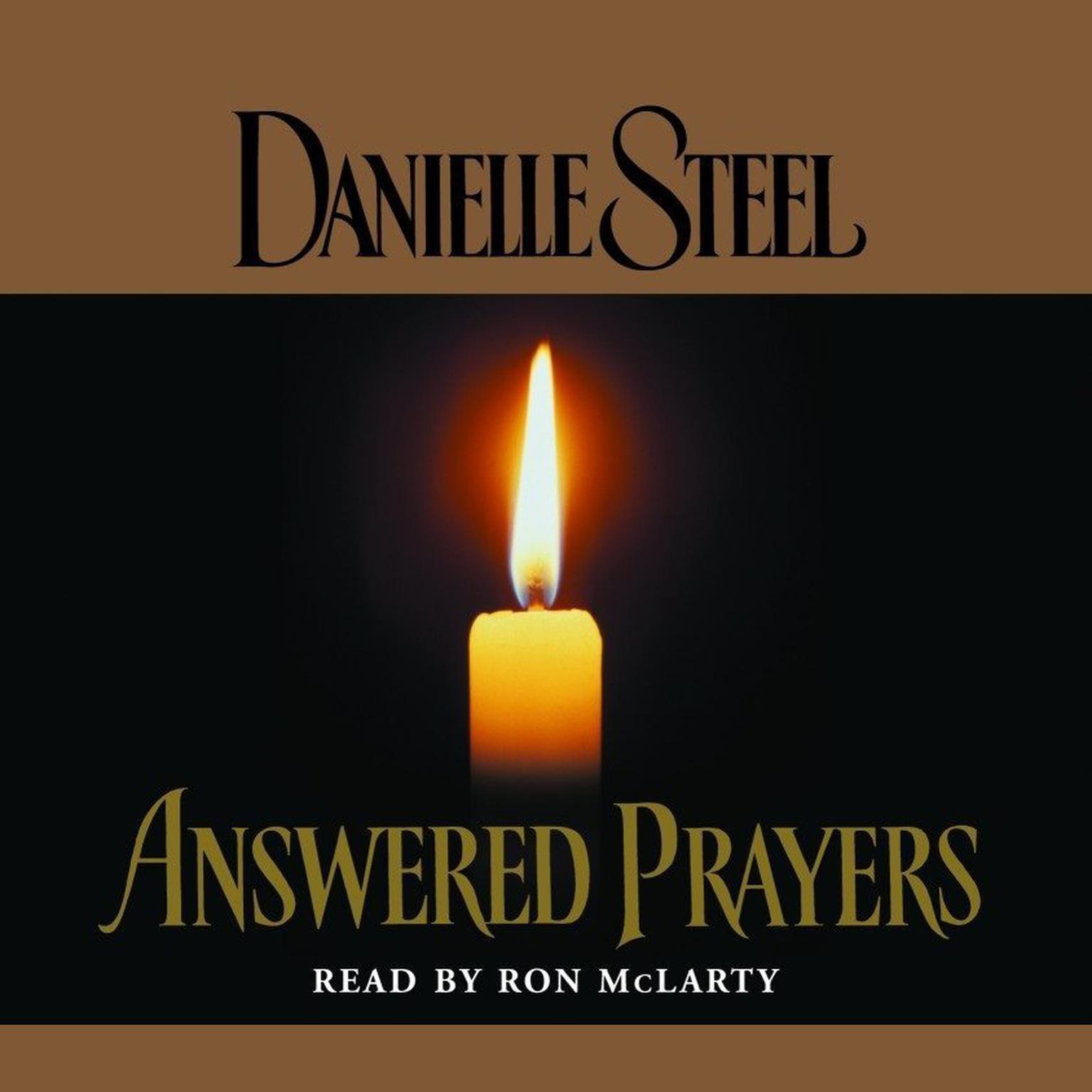 Printable Answered Prayers Audiobook Cover Art