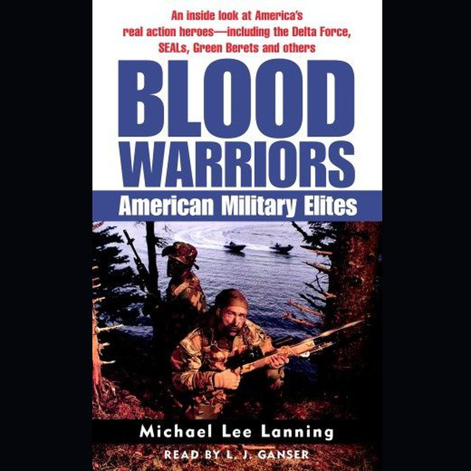Printable Blood Warriors: American Military Elites Audiobook Cover Art