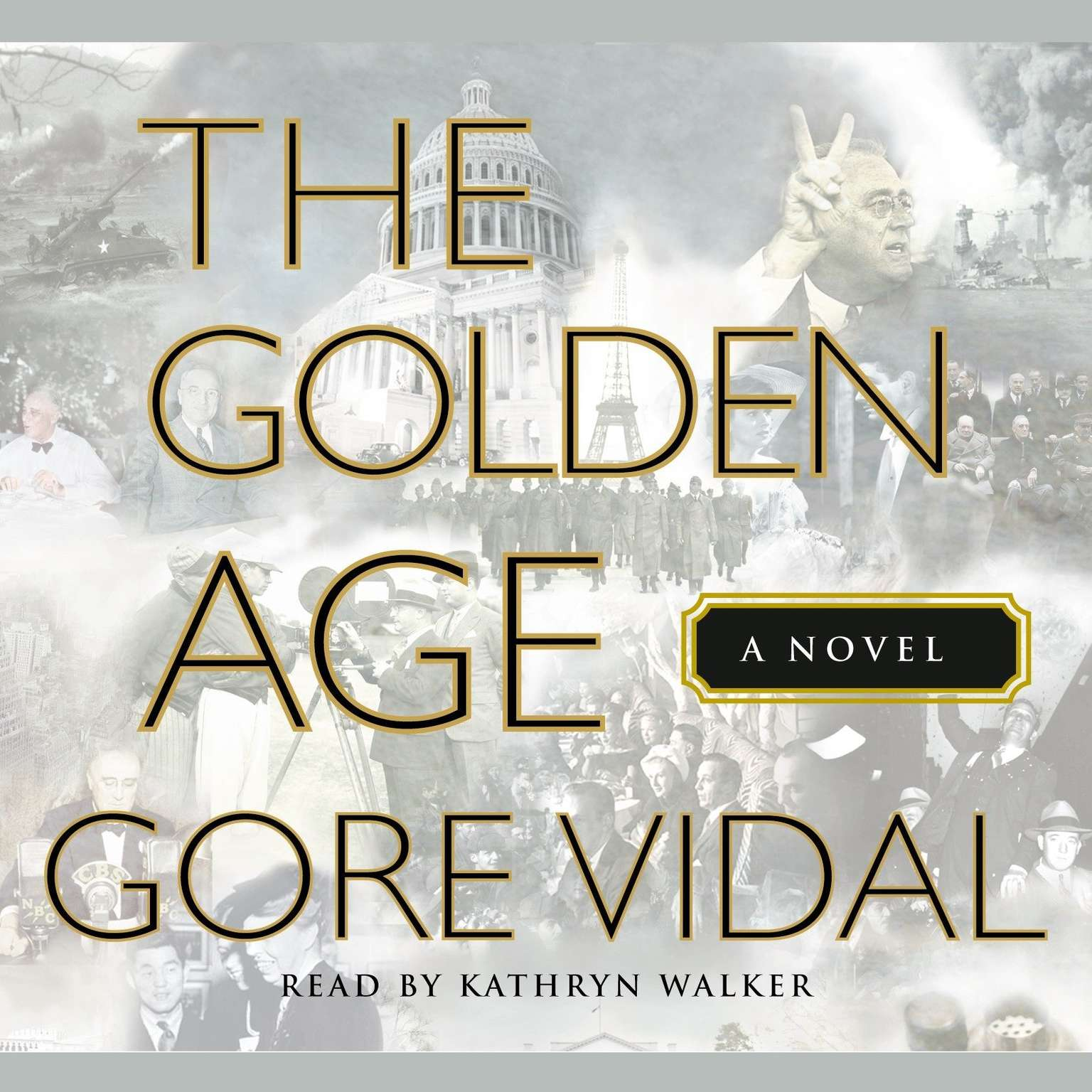 Printable The Golden Age Audiobook Cover Art