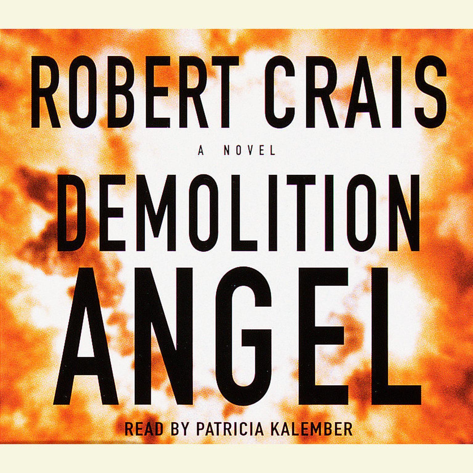 Printable Demolition Angel Audiobook Cover Art