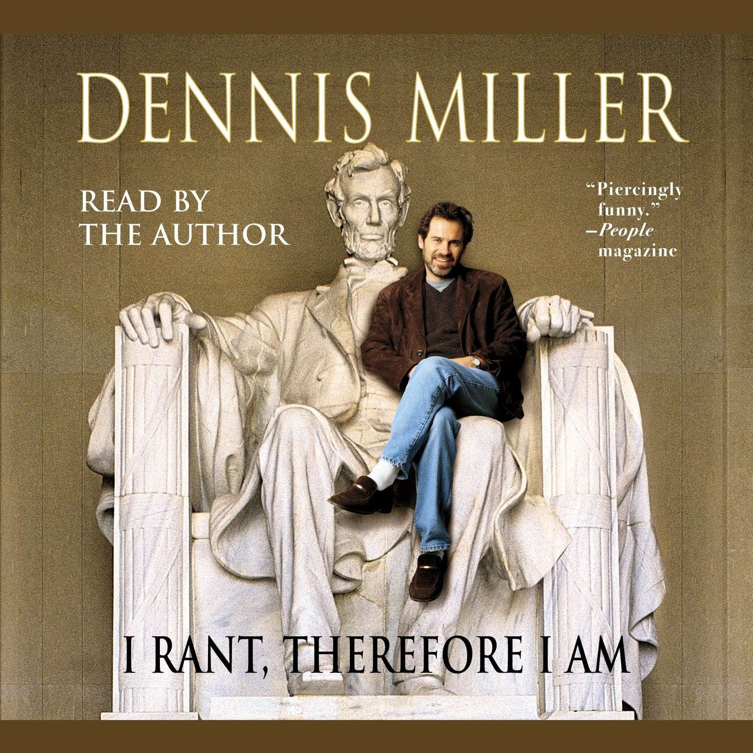 Printable I Rant, Therefore I Am Audiobook Cover Art