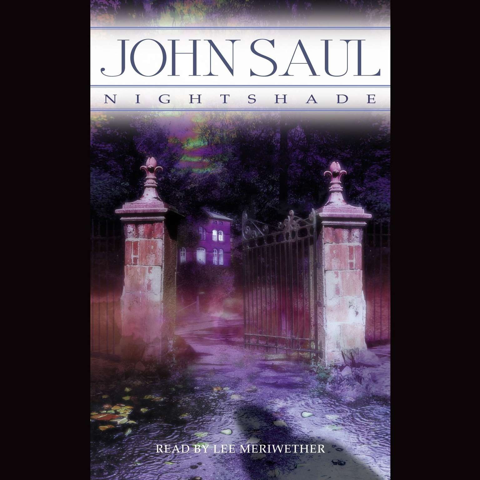 Printable Nightshade Audiobook Cover Art