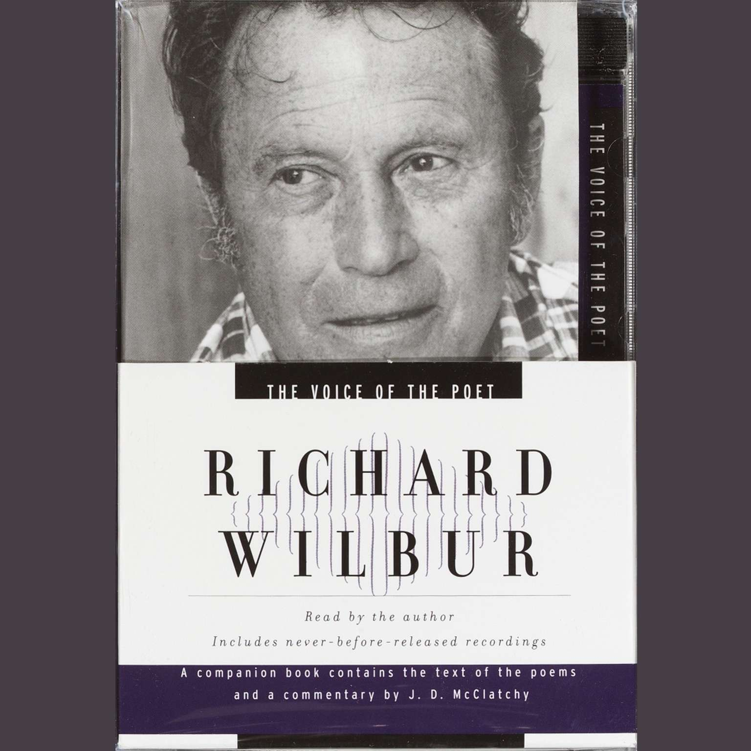 Printable The Voice of the Poet: Richard Wilbur Audiobook Cover Art