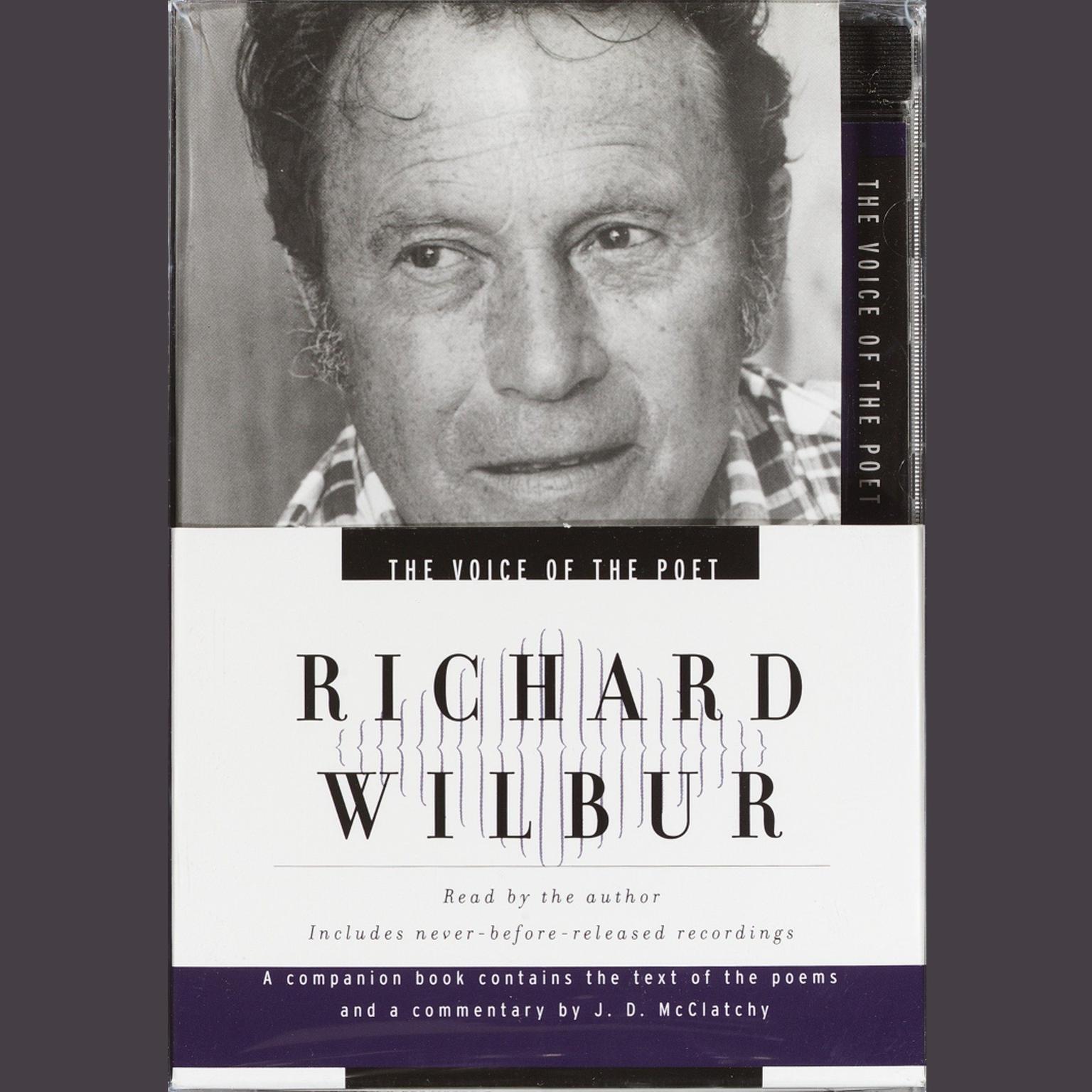 Printable The Voice of the Poet: Richard Wilbur Audiobook Cover Art