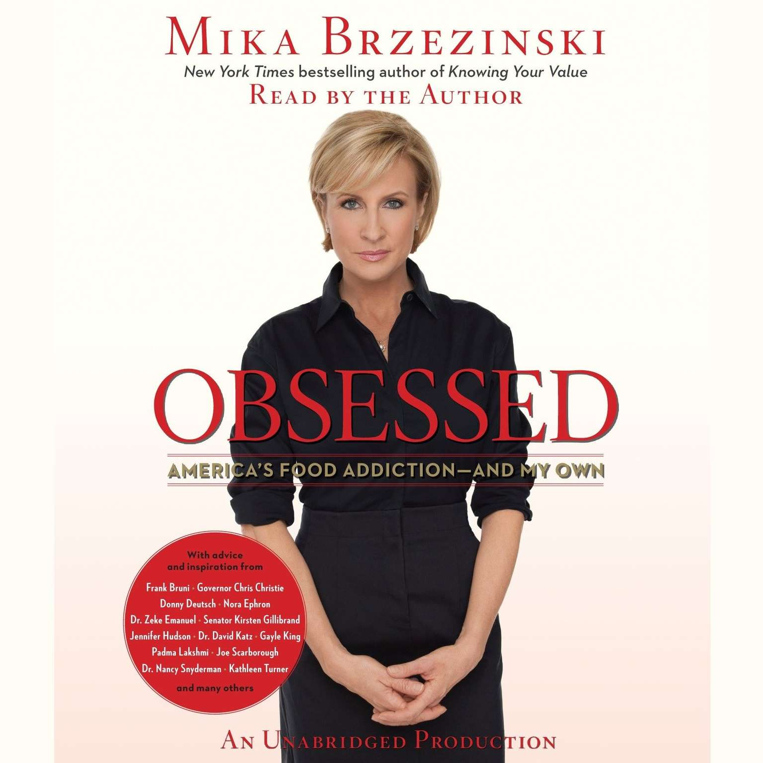 Printable Obsessed: America's Food Addiction—and My Own Audiobook Cover Art