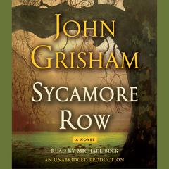 Sycamore Row Audiobook, by