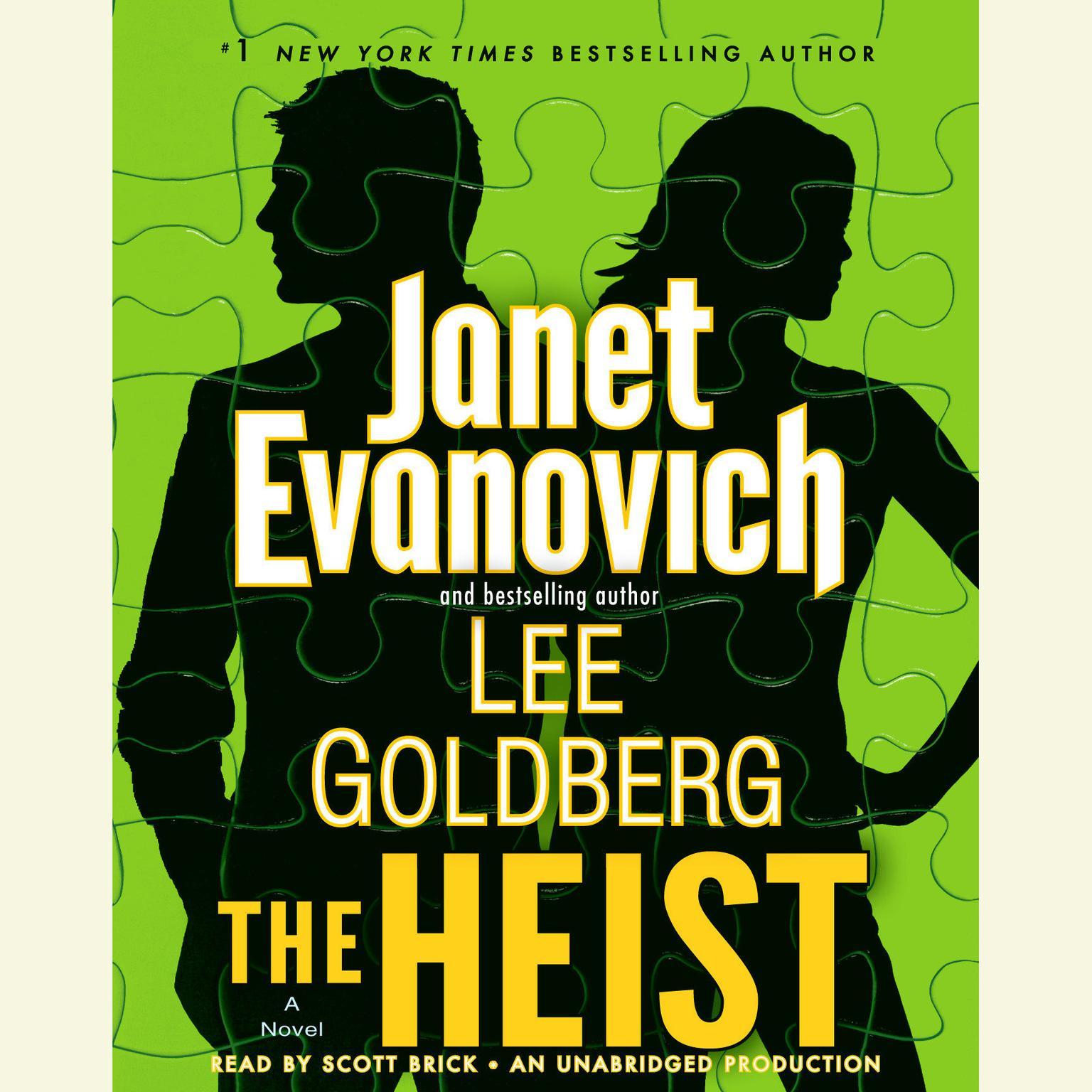 Printable The Heist: A Novel Audiobook Cover Art