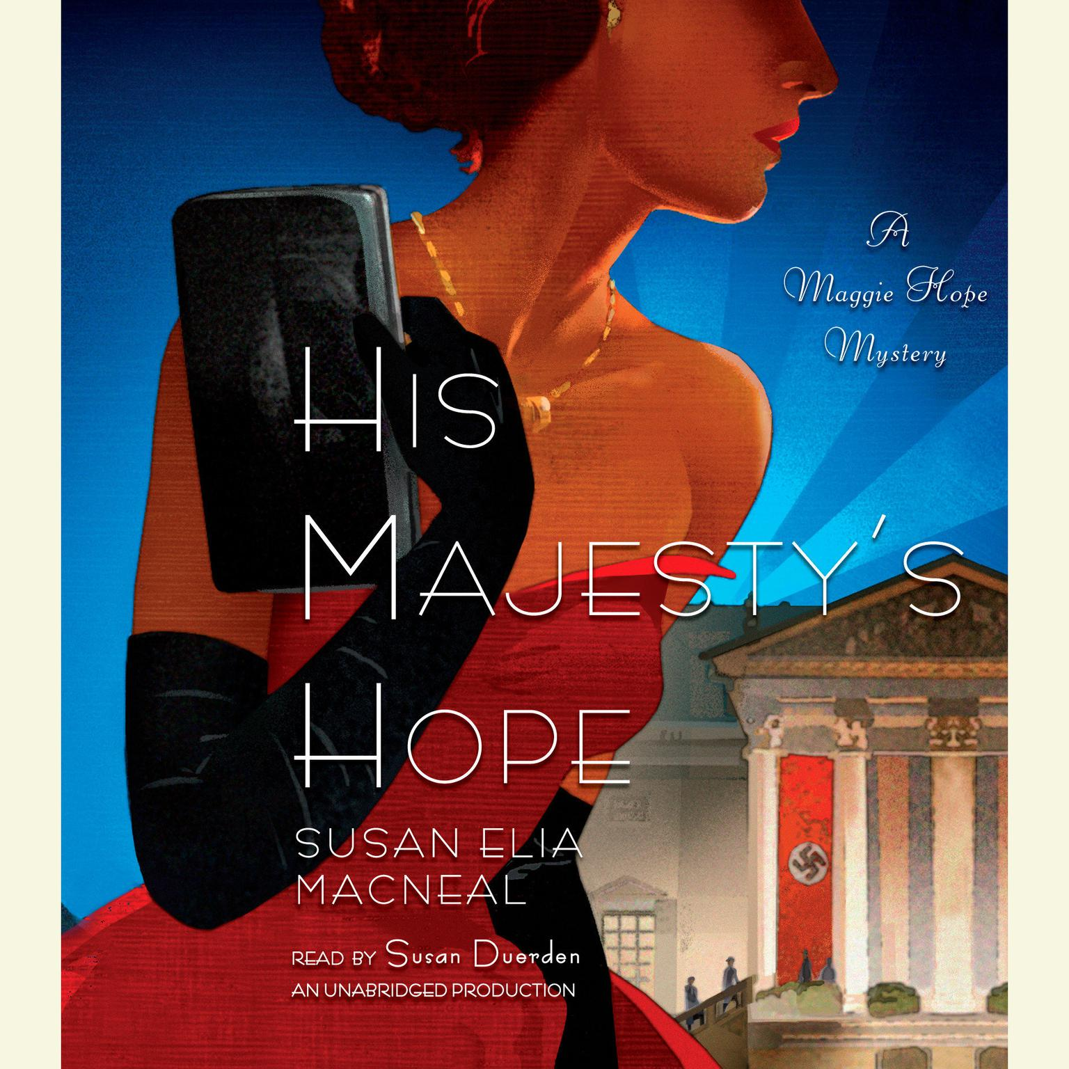 Printable His Majesty's Hope: A Maggie Hope Mystery Audiobook Cover Art
