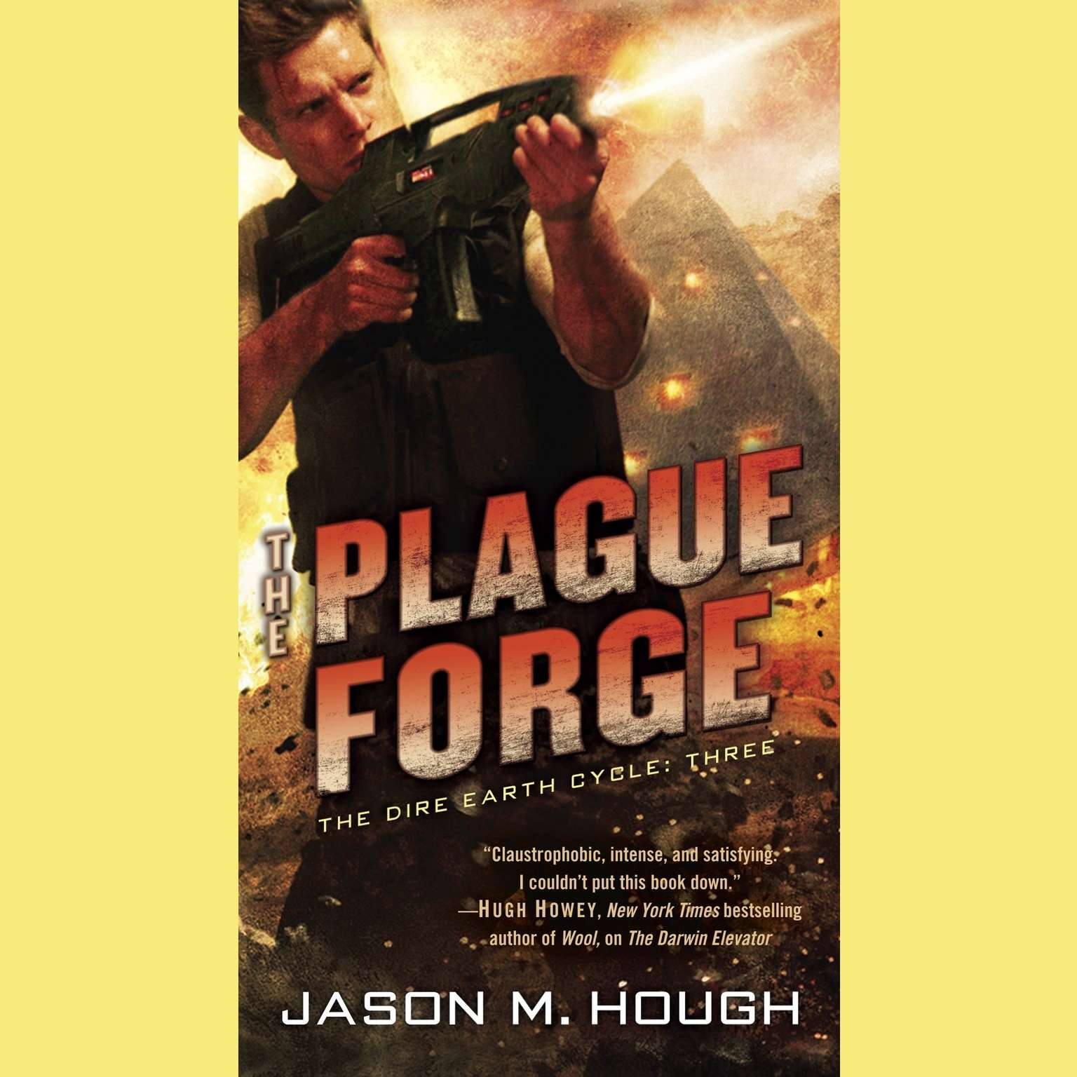 Printable The Plague Forge Audiobook Cover Art