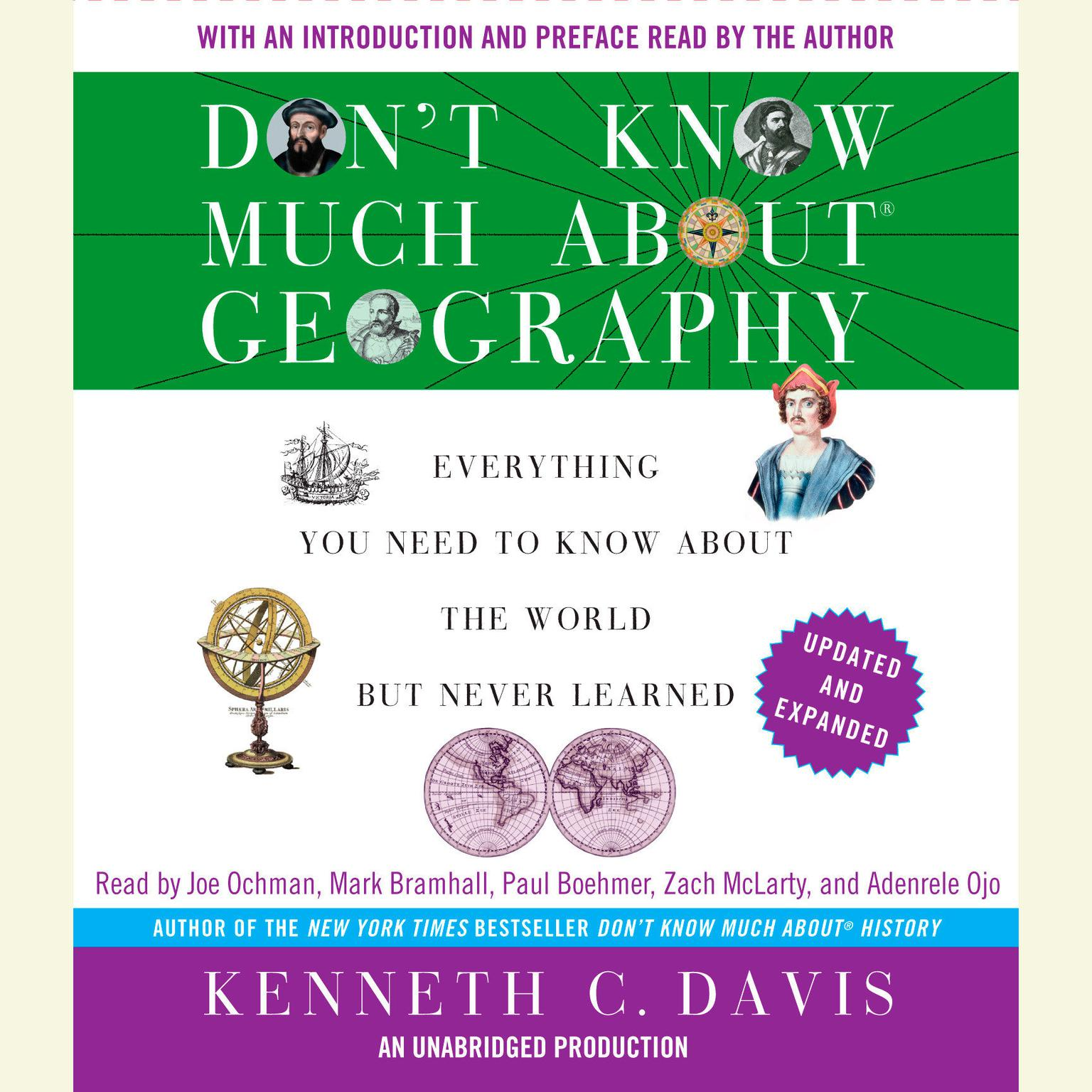 Printable Don't Know Much About Geography: Everything You Need to Know About the World But Never Learned, Revised and Updated Audiobook Cover Art