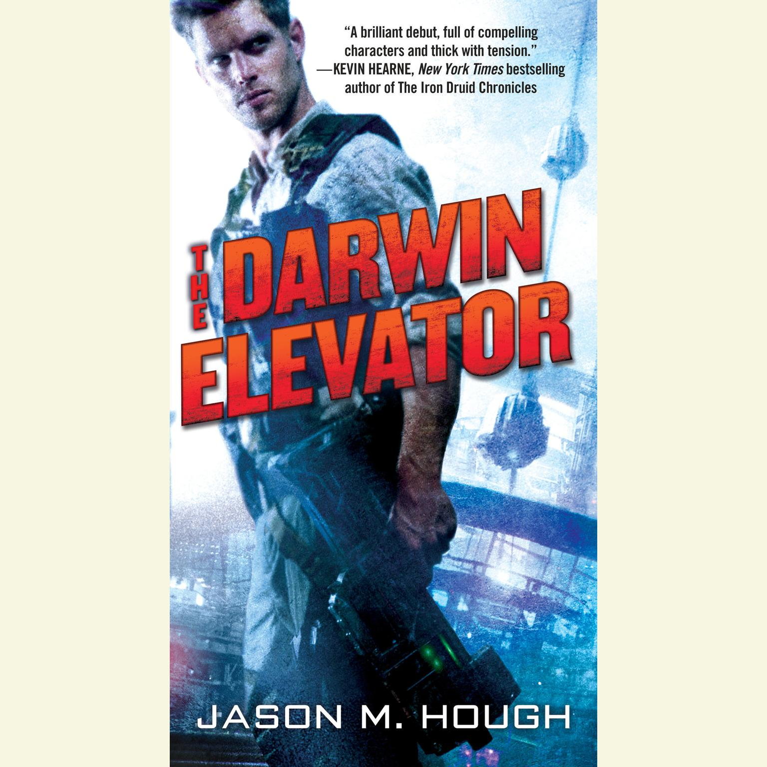 Printable The Darwin Elevator Audiobook Cover Art