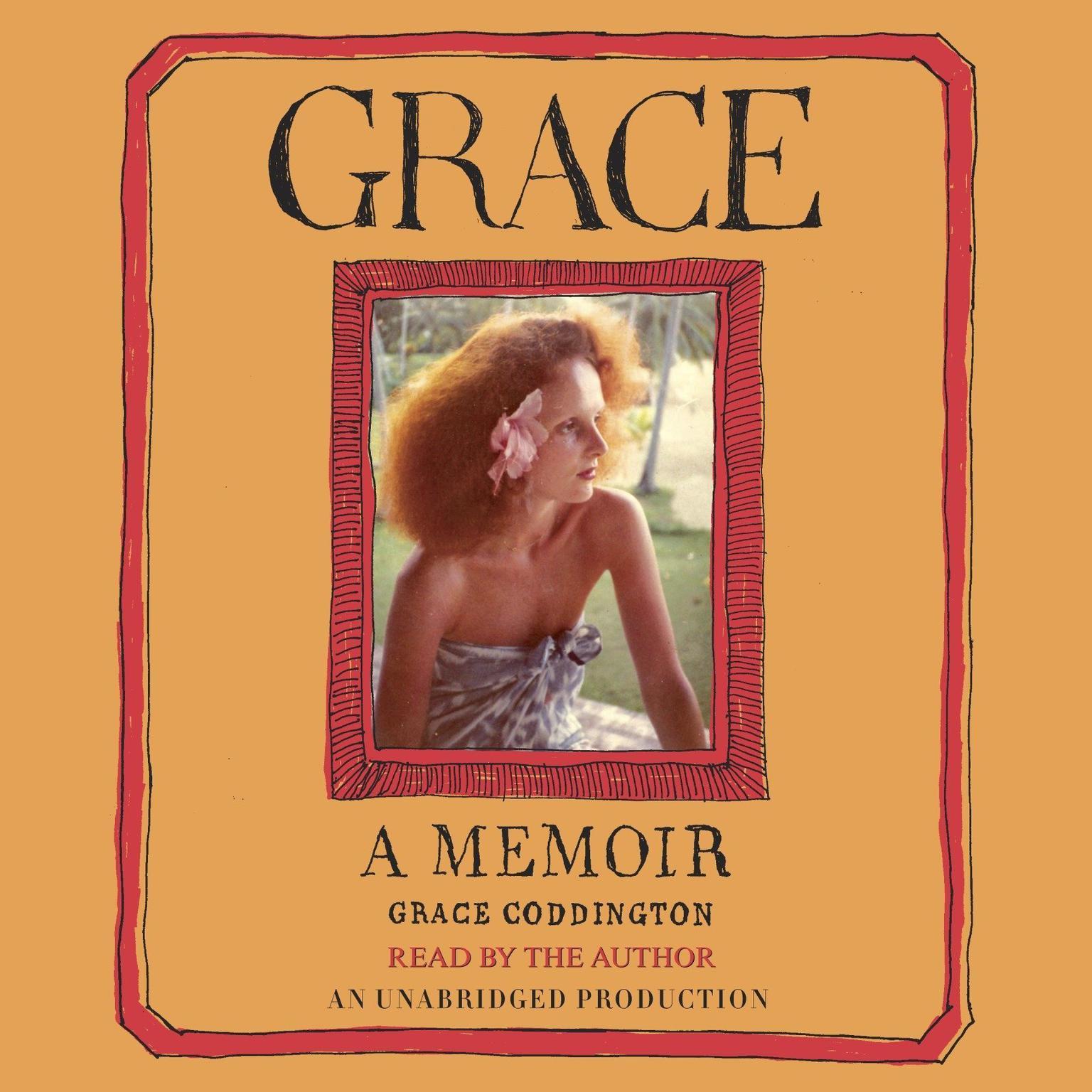 Printable Grace: A Memoir Audiobook Cover Art