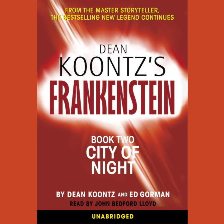 Printable Frankenstein: City of Night Audiobook Cover Art