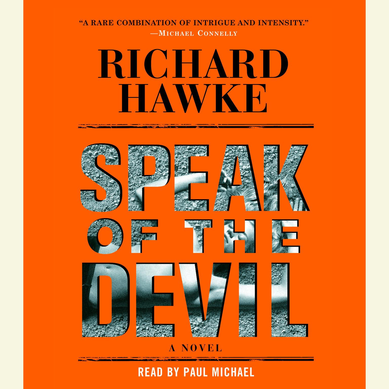 Printable Speak of the Devil: A Novel Audiobook Cover Art