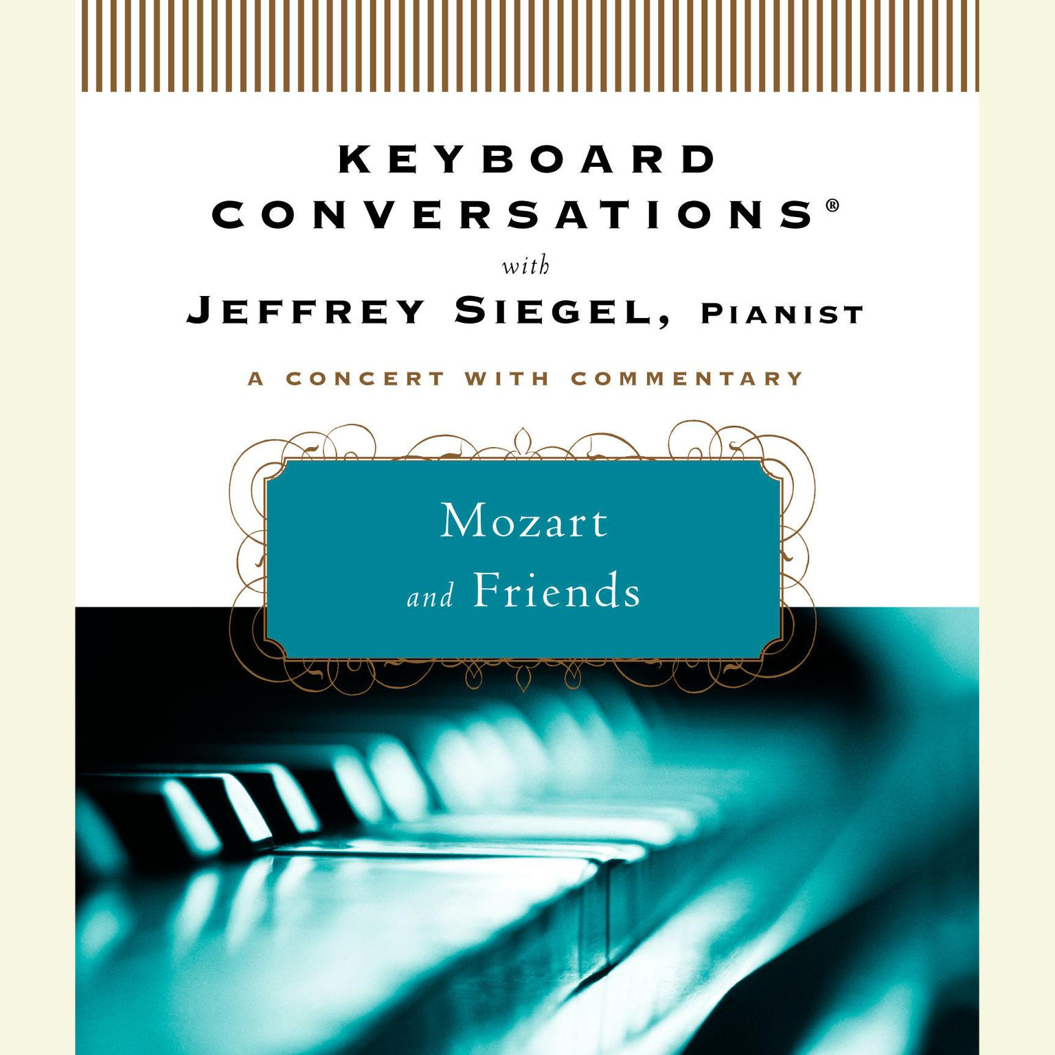 Printable Mozart and Friends Audiobook Cover Art