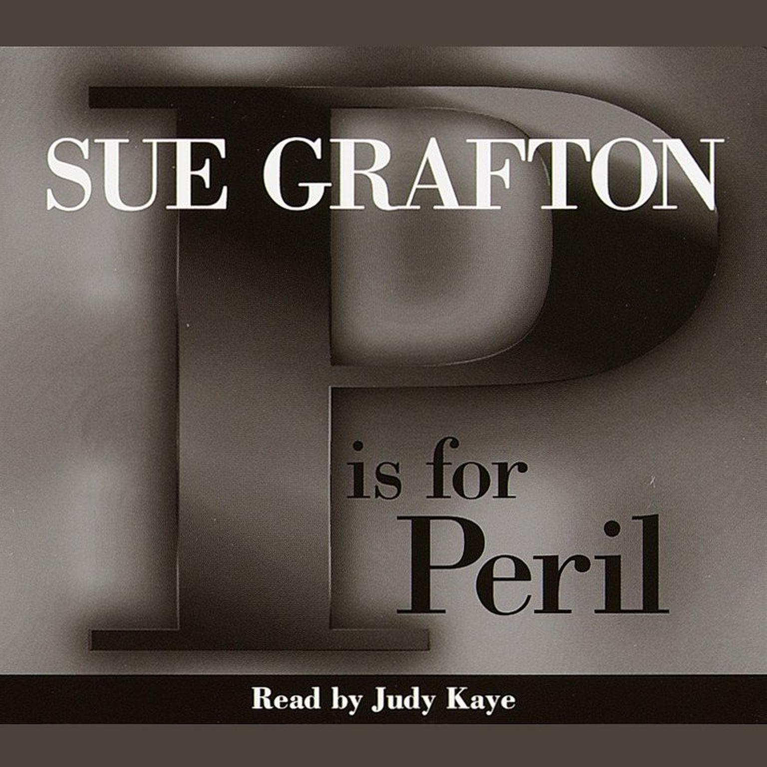 Printable P Is for Peril Audiobook Cover Art