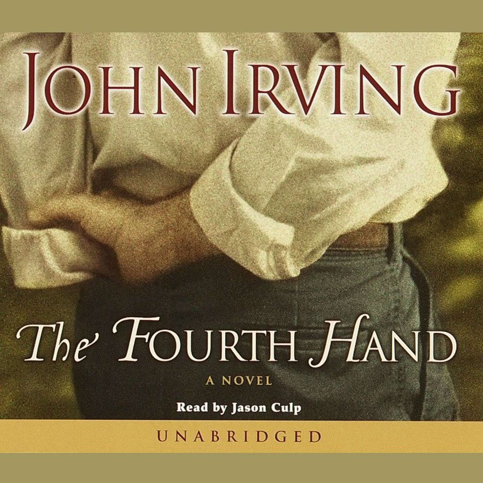 Printable The Fourth Hand Audiobook Cover Art