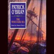 The Wine-Dark Sea Audiobook, by Patrick O'Brian