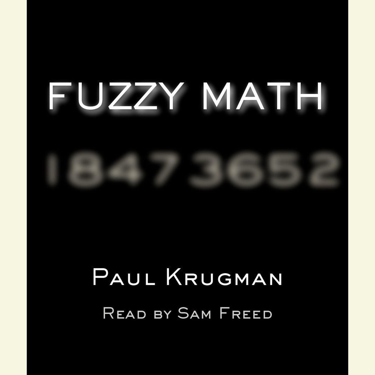 Printable Fuzzy Math: The Essential Guide to the Bush Tax Plan Audiobook Cover Art
