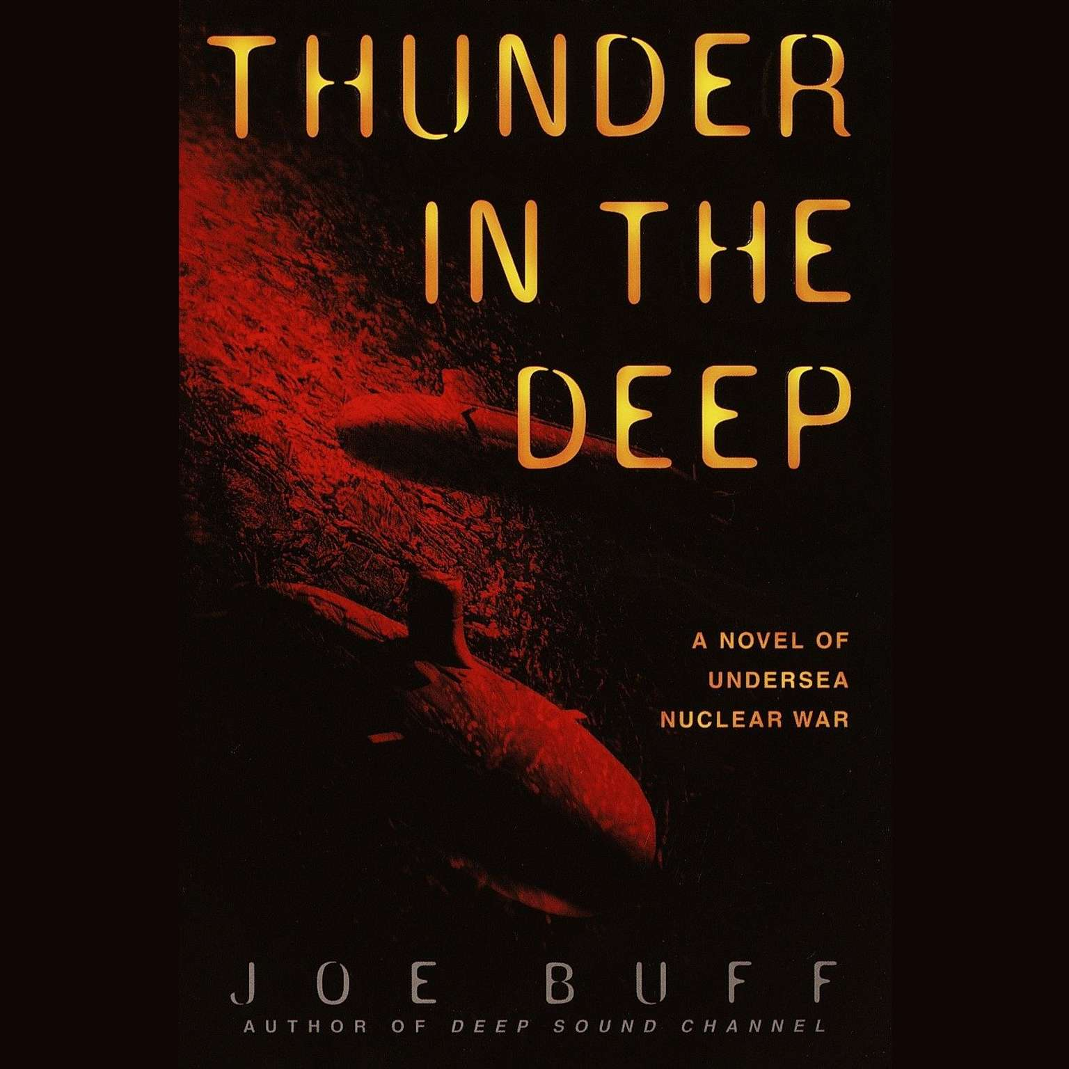 Printable Thunder in the Deep Audiobook Cover Art