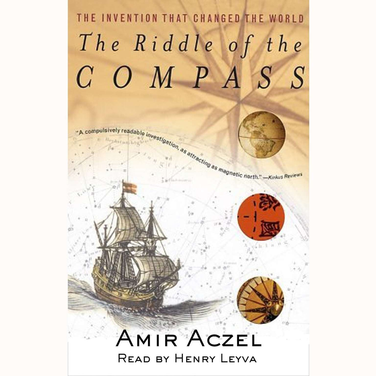 Printable Riddle of the Compass Audiobook Cover Art