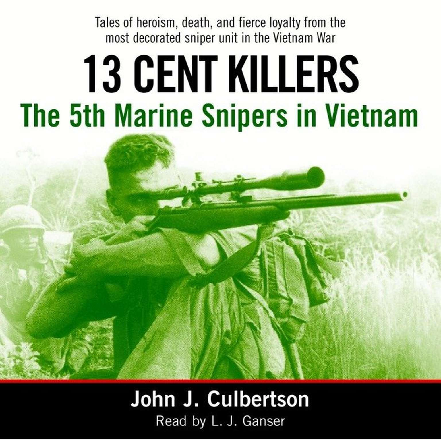 Printable 13 Cent Killers: The 5th Marine Snipers in Vietnam Audiobook Cover Art