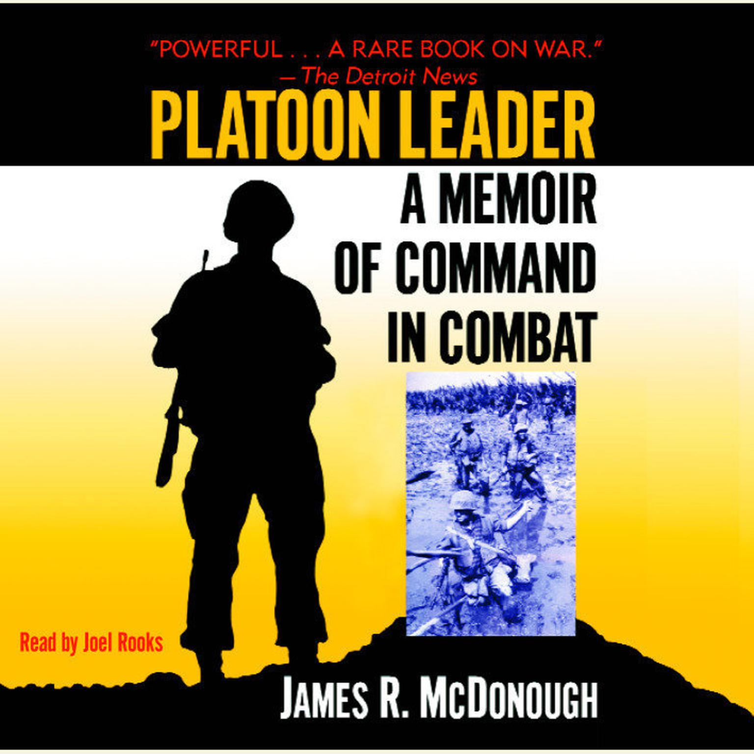 Printable Platoon Leader (Abridged): A Memoir of Command in Combat Audiobook Cover Art
