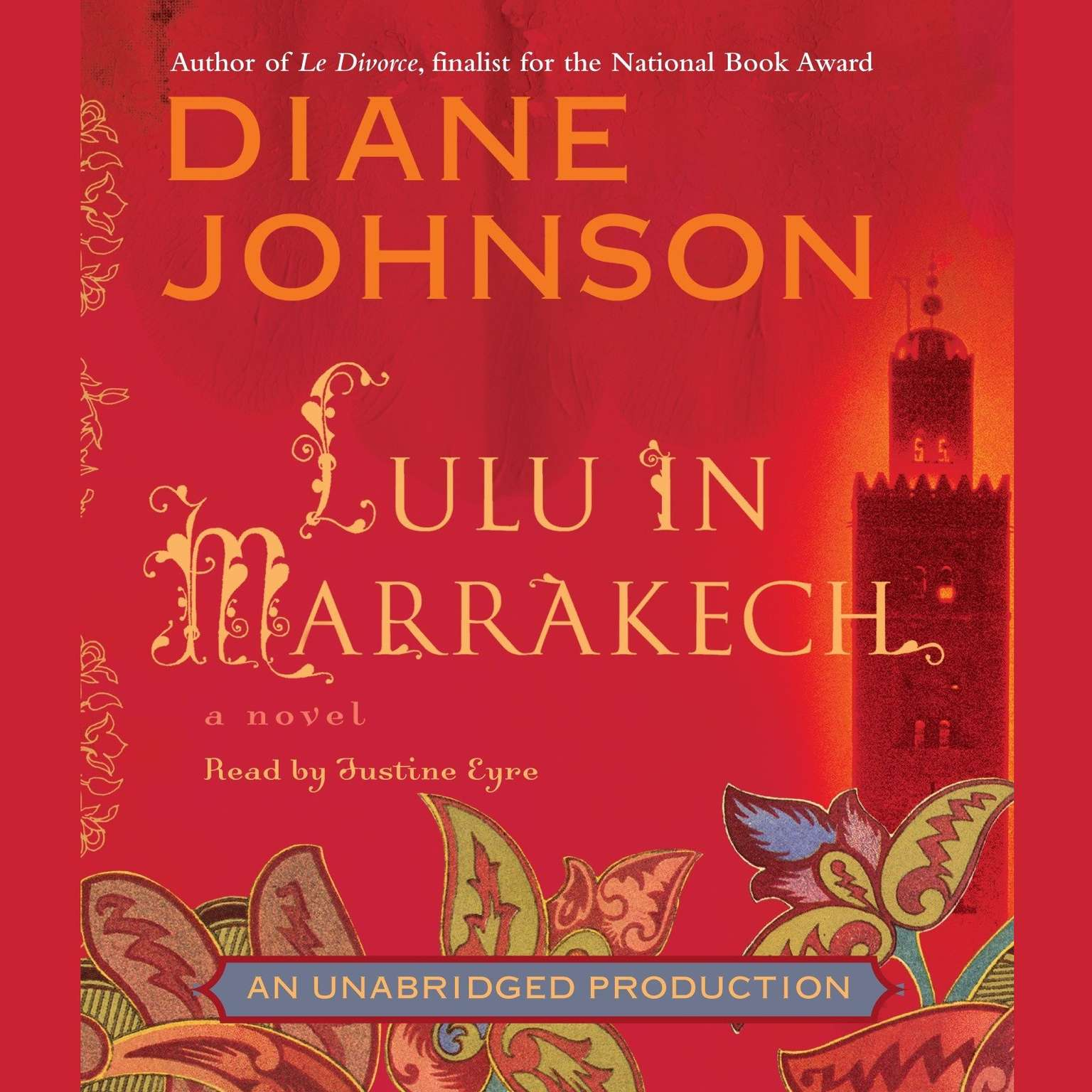 Printable Lulu in Marrakech Audiobook Cover Art