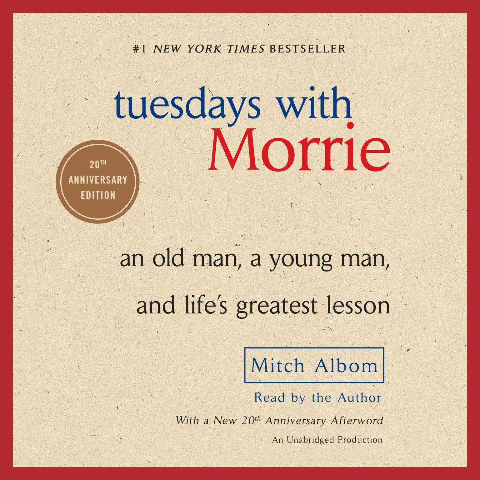 an analysis of the book tuesdays with morrie by mitch albom