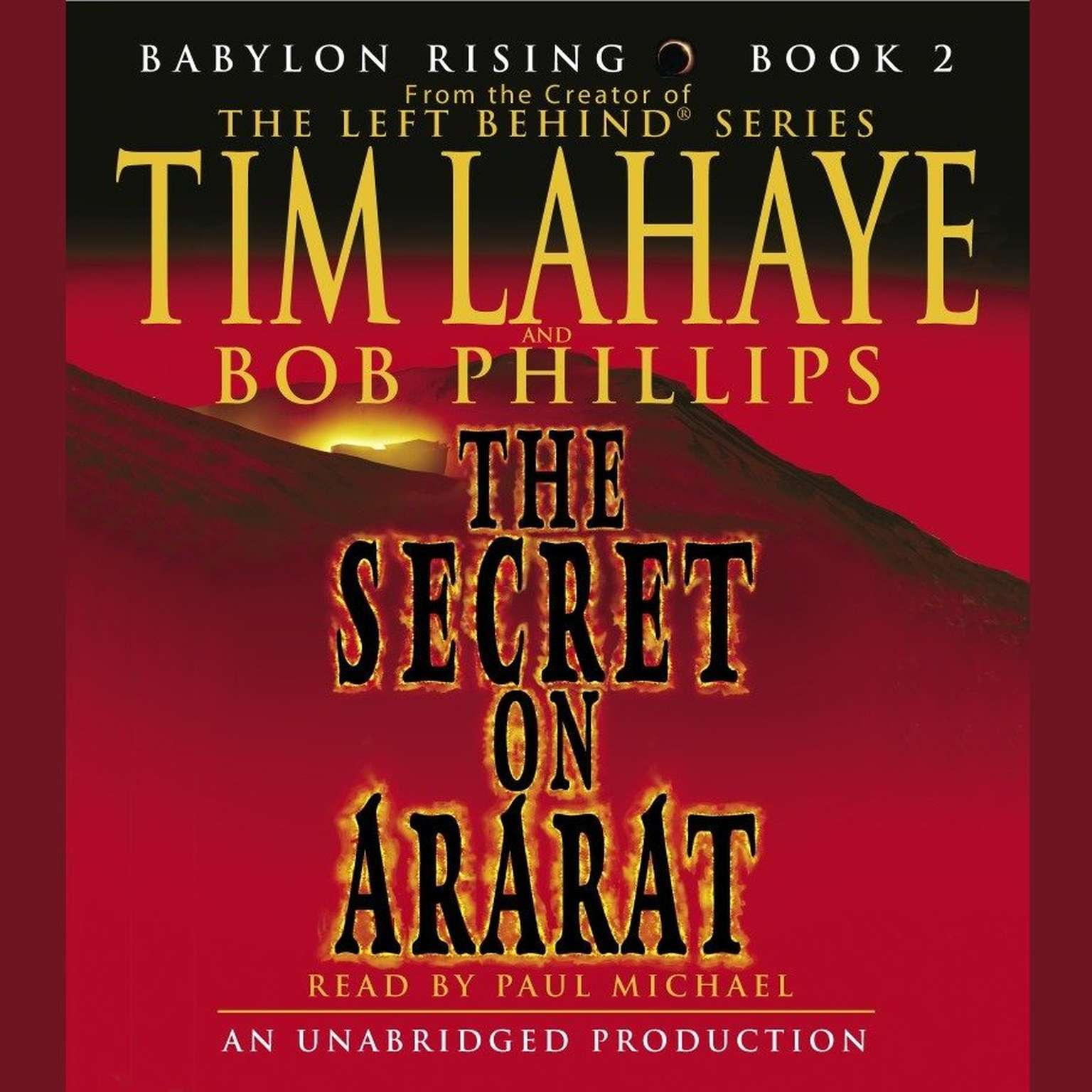 Printable Babylon Rising: The Secret on Ararat Audiobook Cover Art