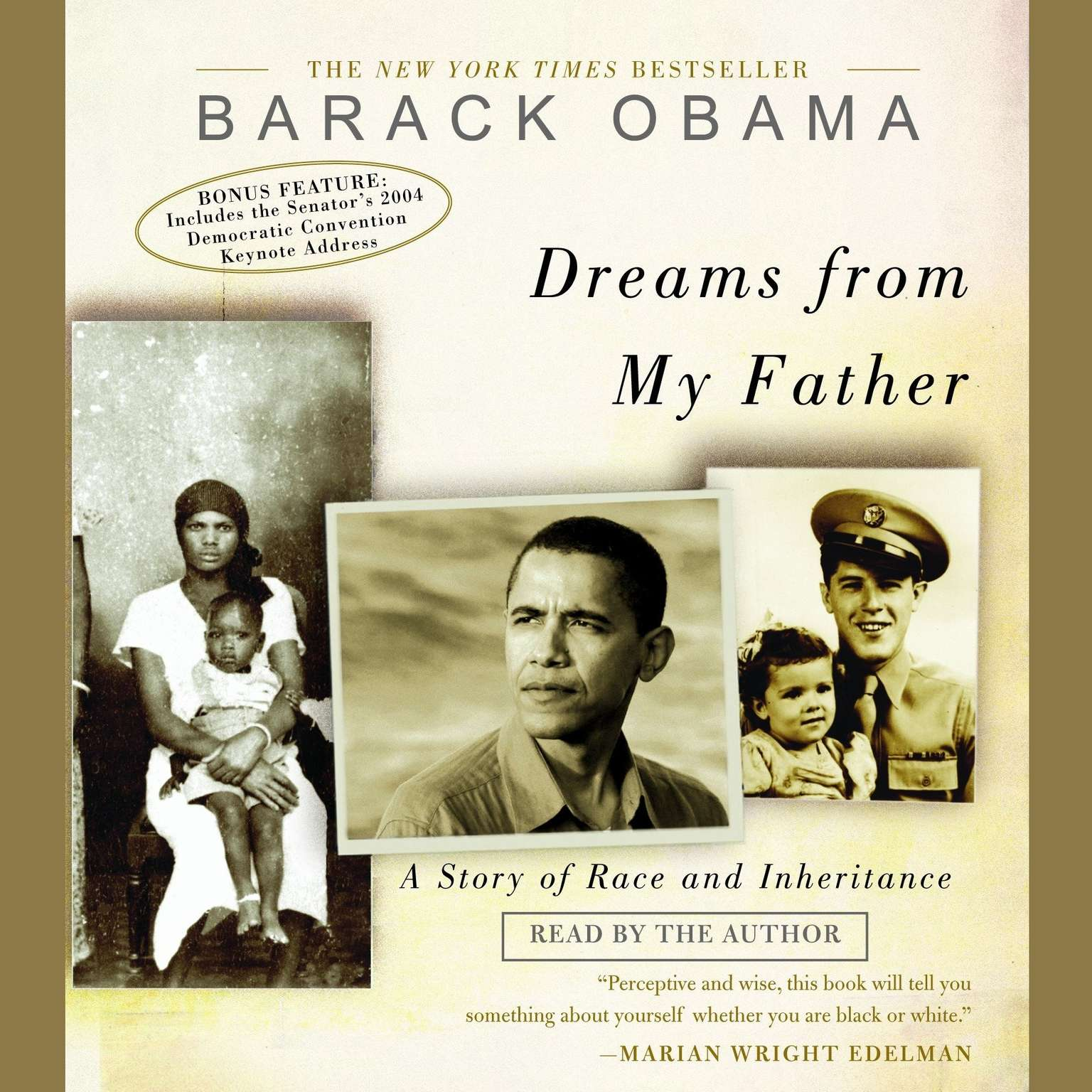 Printable Dreams from My Father: A Story of Race and Inheritance Audiobook Cover Art