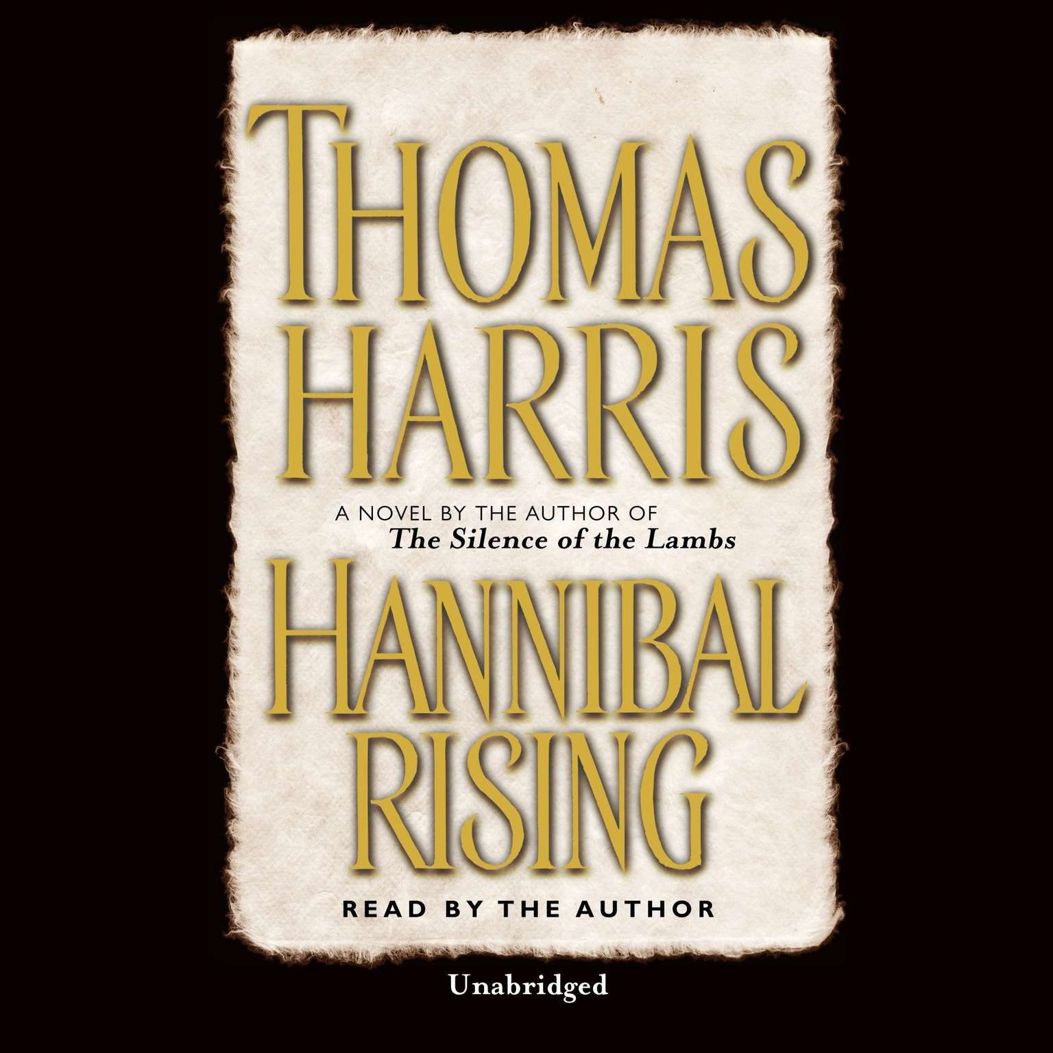 Printable Hannibal Rising Audiobook Cover Art