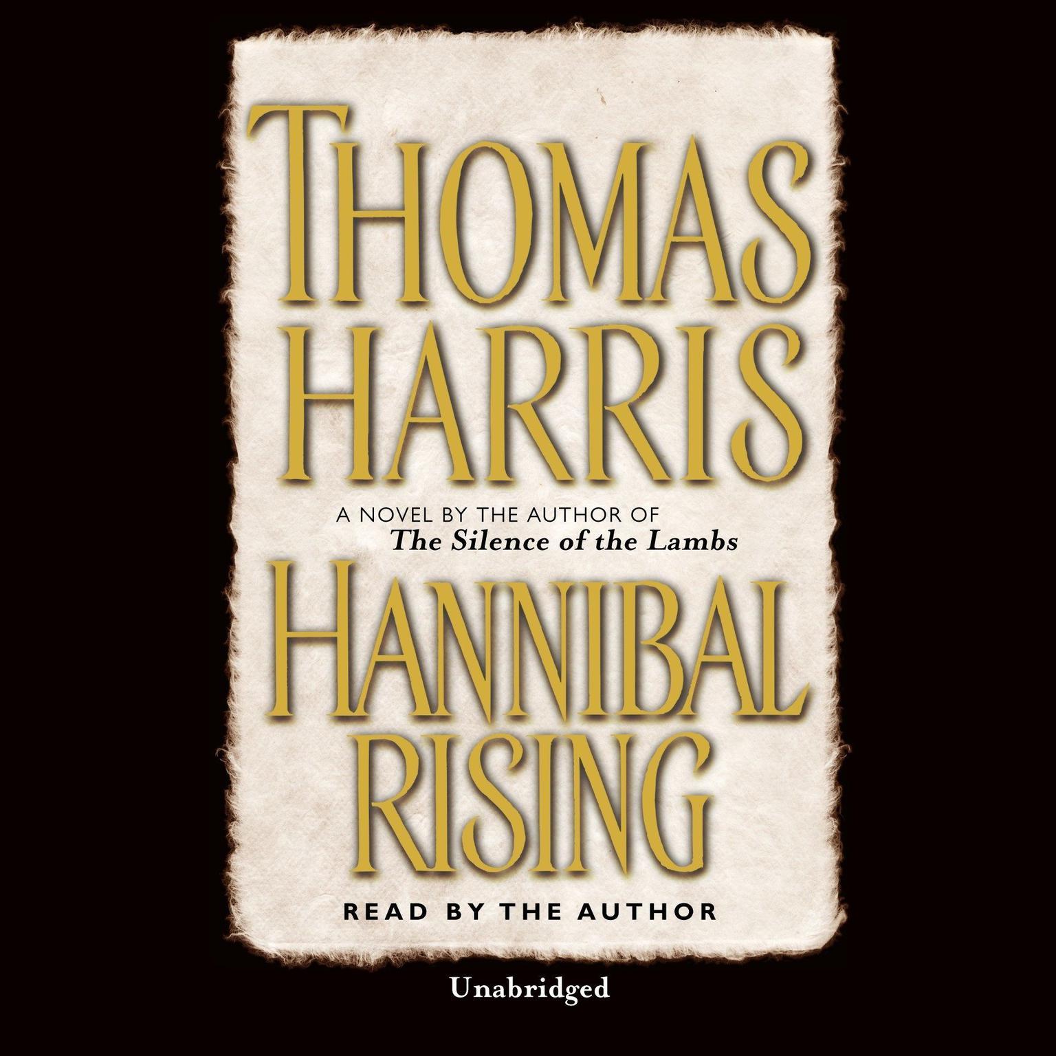 Printable Hannibal Rising Audiobook Cover Art