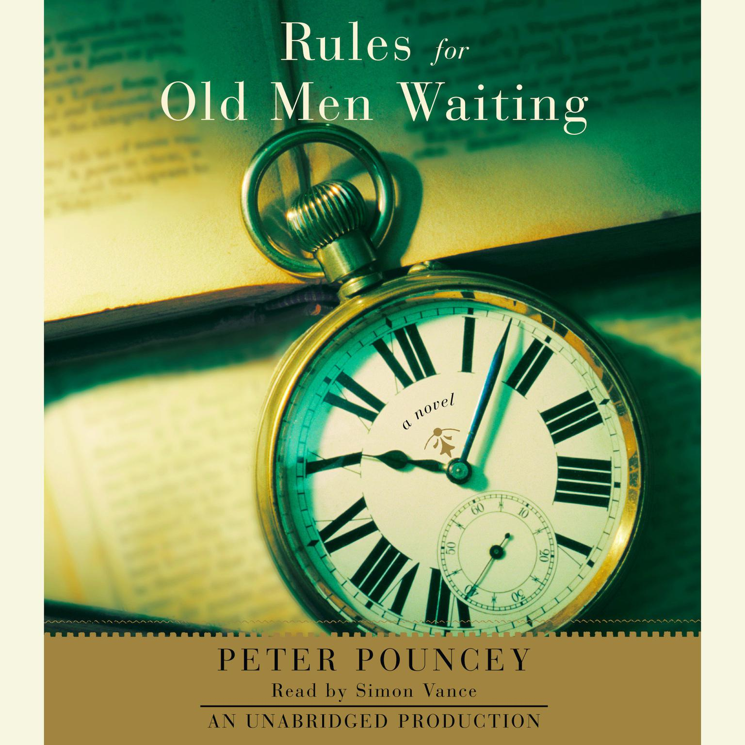 Printable Rules for Old Men Waiting: A Novel Audiobook Cover Art