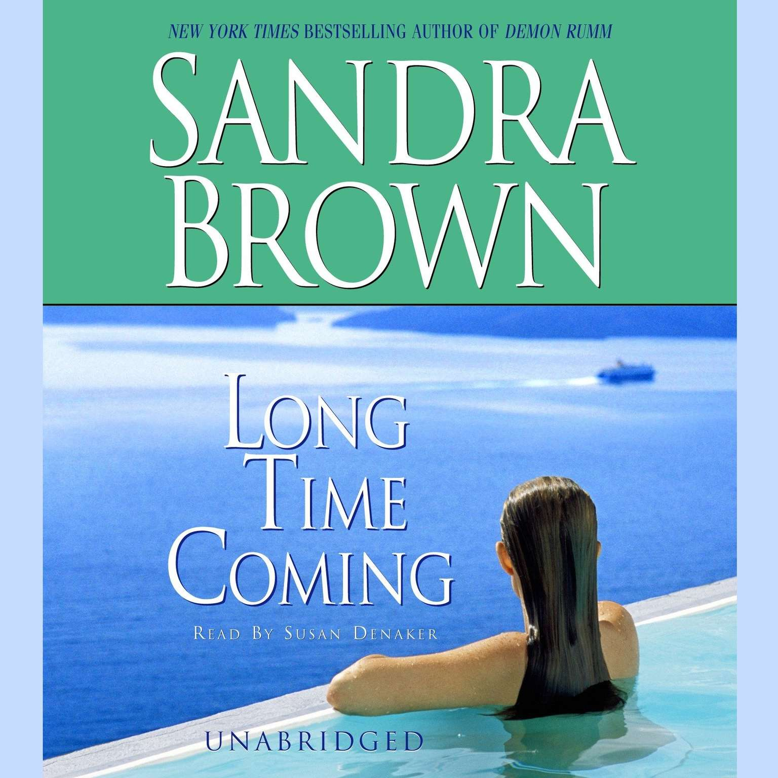 Printable Long Time Coming Audiobook Cover Art