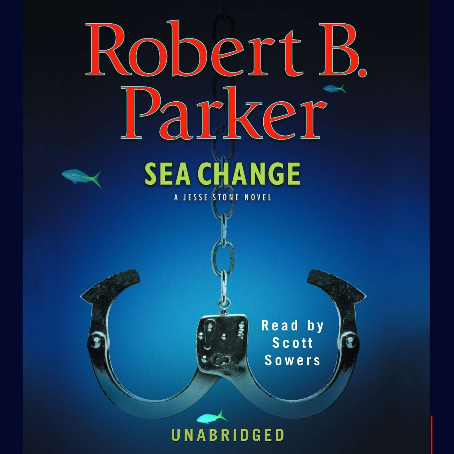 Printable Sea Change Audiobook Cover Art