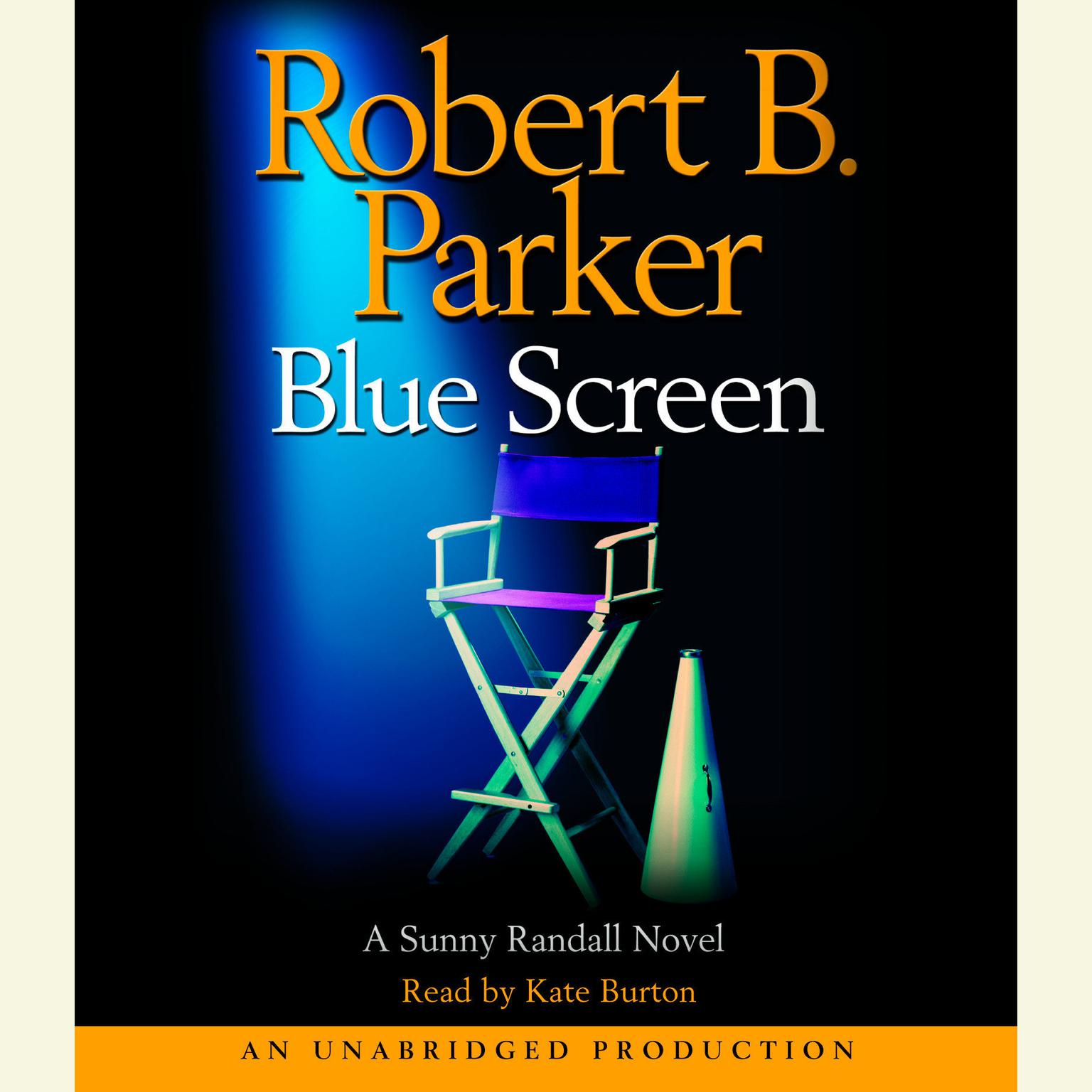 Printable Blue Screen Audiobook Cover Art