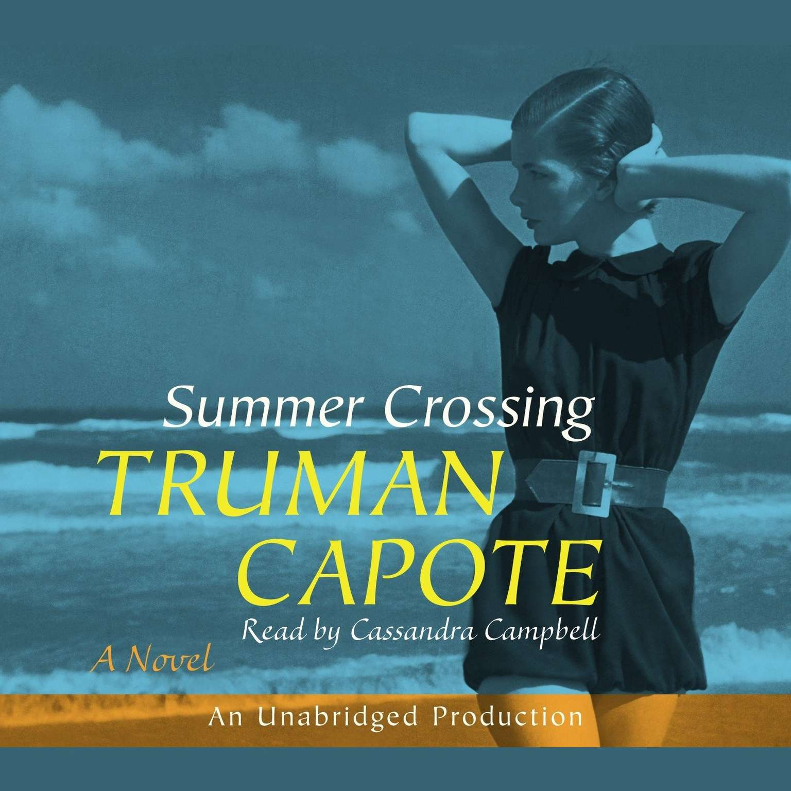 Printable Summer Crossing Audiobook Cover Art