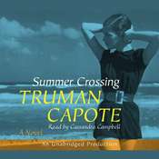 Summer Crossing Audiobook, by Truman Capote