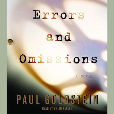 Errors and Omissions Audiobook, by Paul Goldstein
