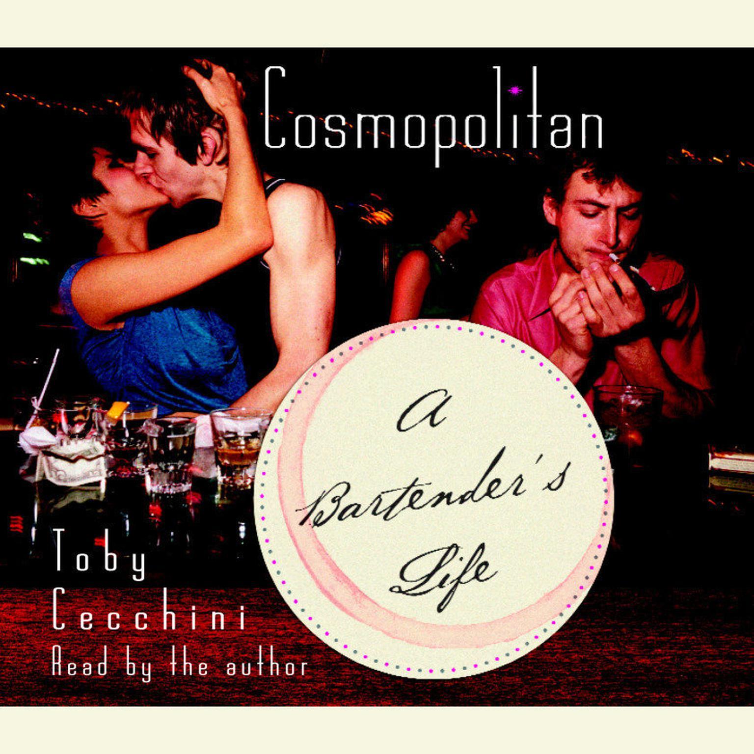 Printable Cosmopolitan: A Bartender's Life Audiobook Cover Art