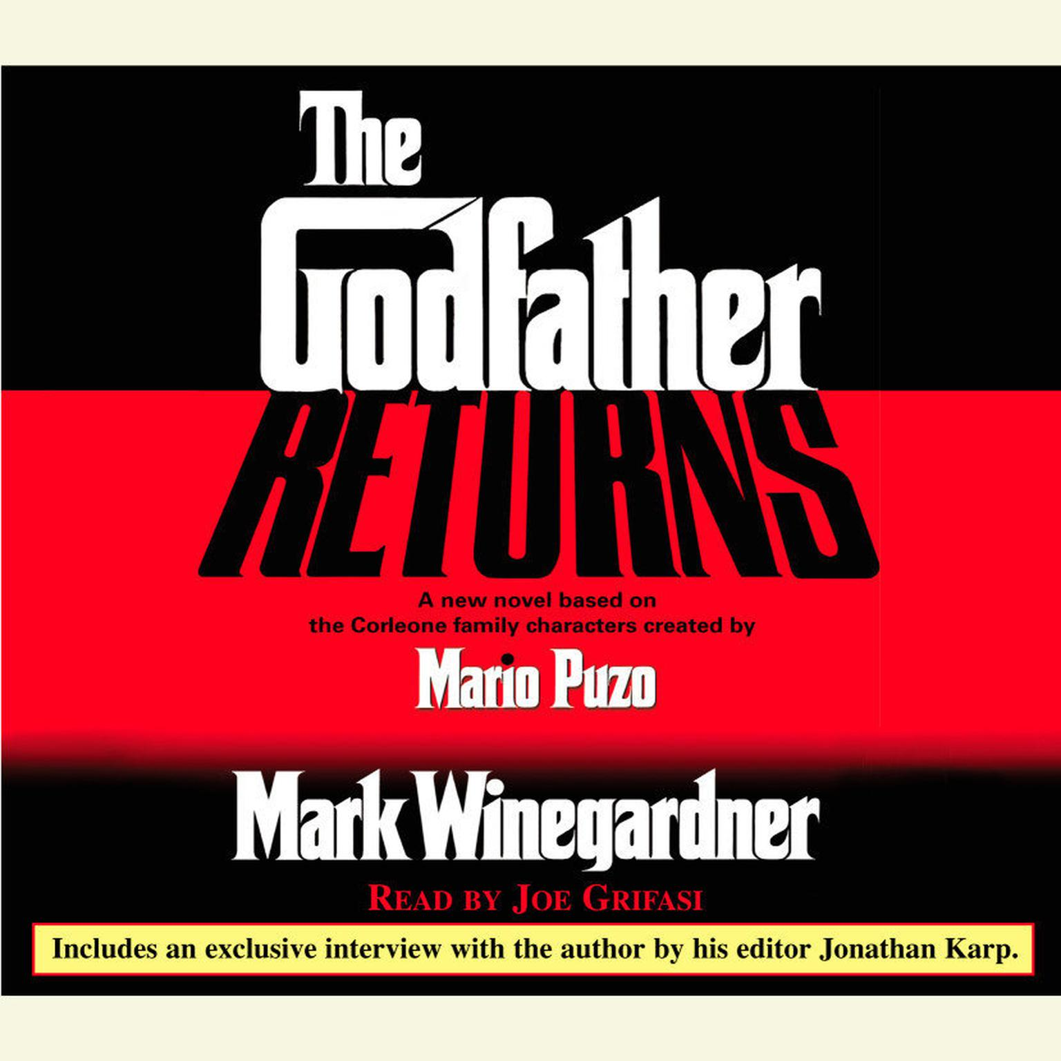 Printable The Godfather Returns: The Saga of the Family Corleone Audiobook Cover Art