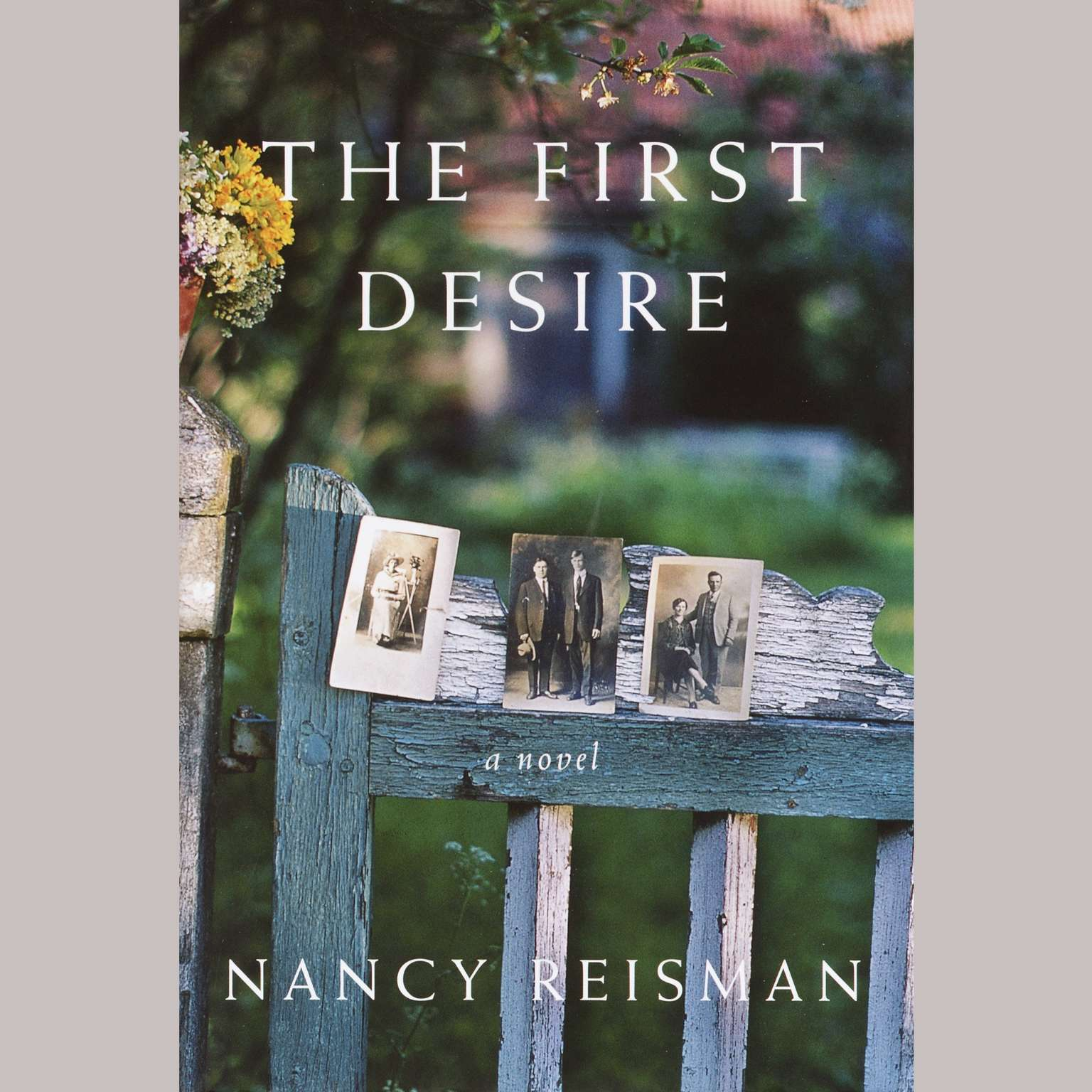 Printable The First Desire: A Novel Audiobook Cover Art