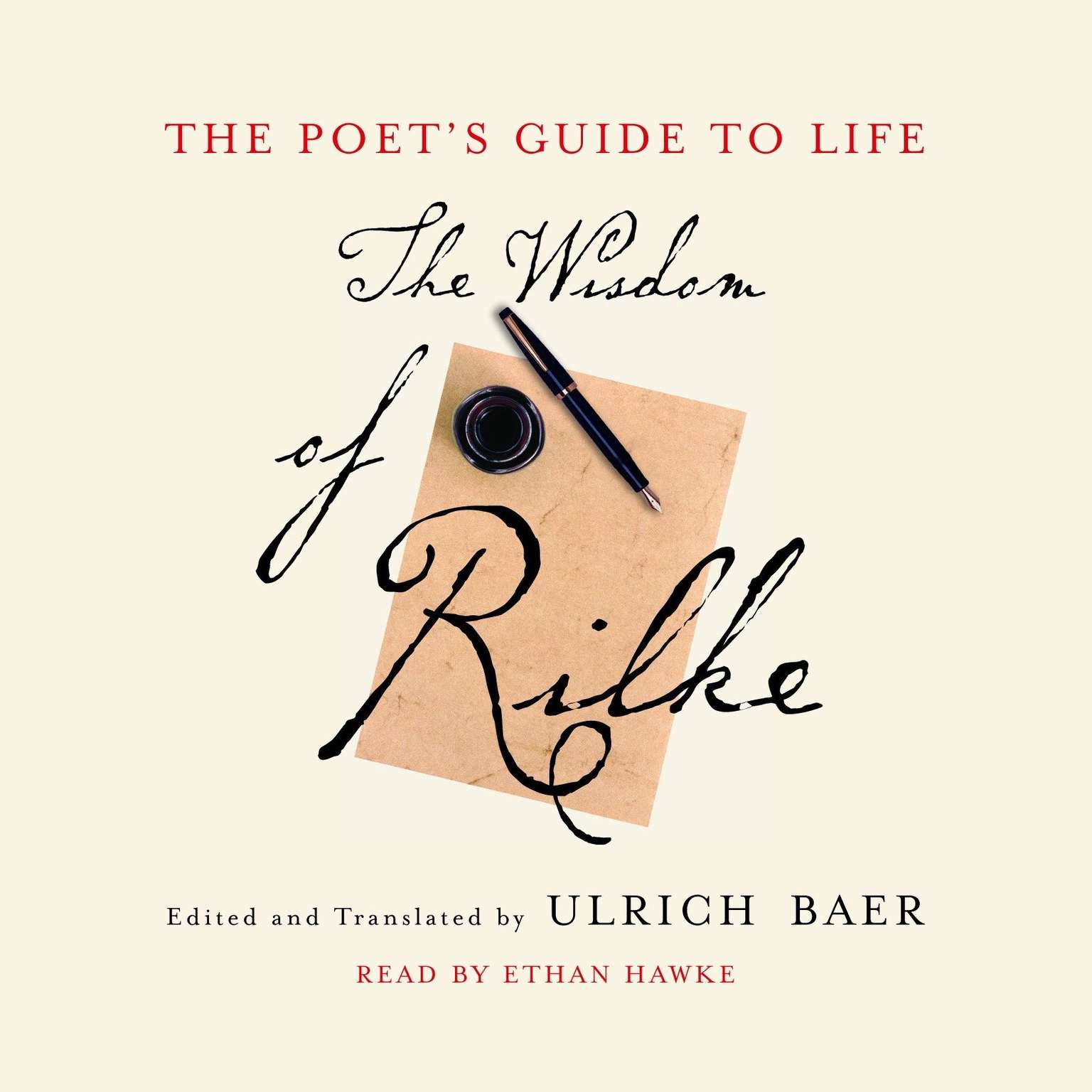 Printable The Poet's Guide to Life: The Wisdom of Rilke Audiobook Cover Art