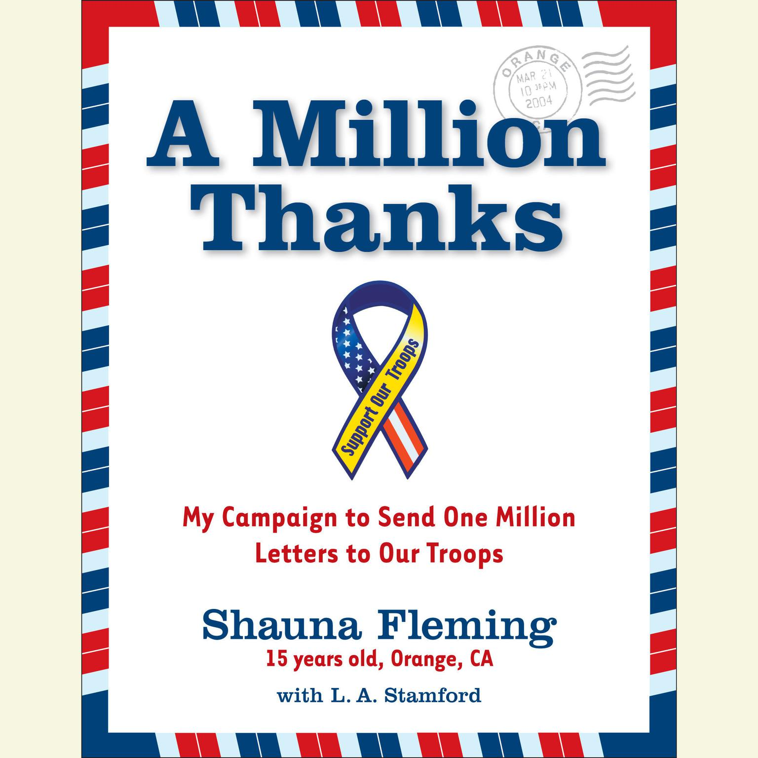 Printable A Million Thanks Audiobook Cover Art