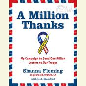 A Million Thanks Audiobook, by Shauna Fleming