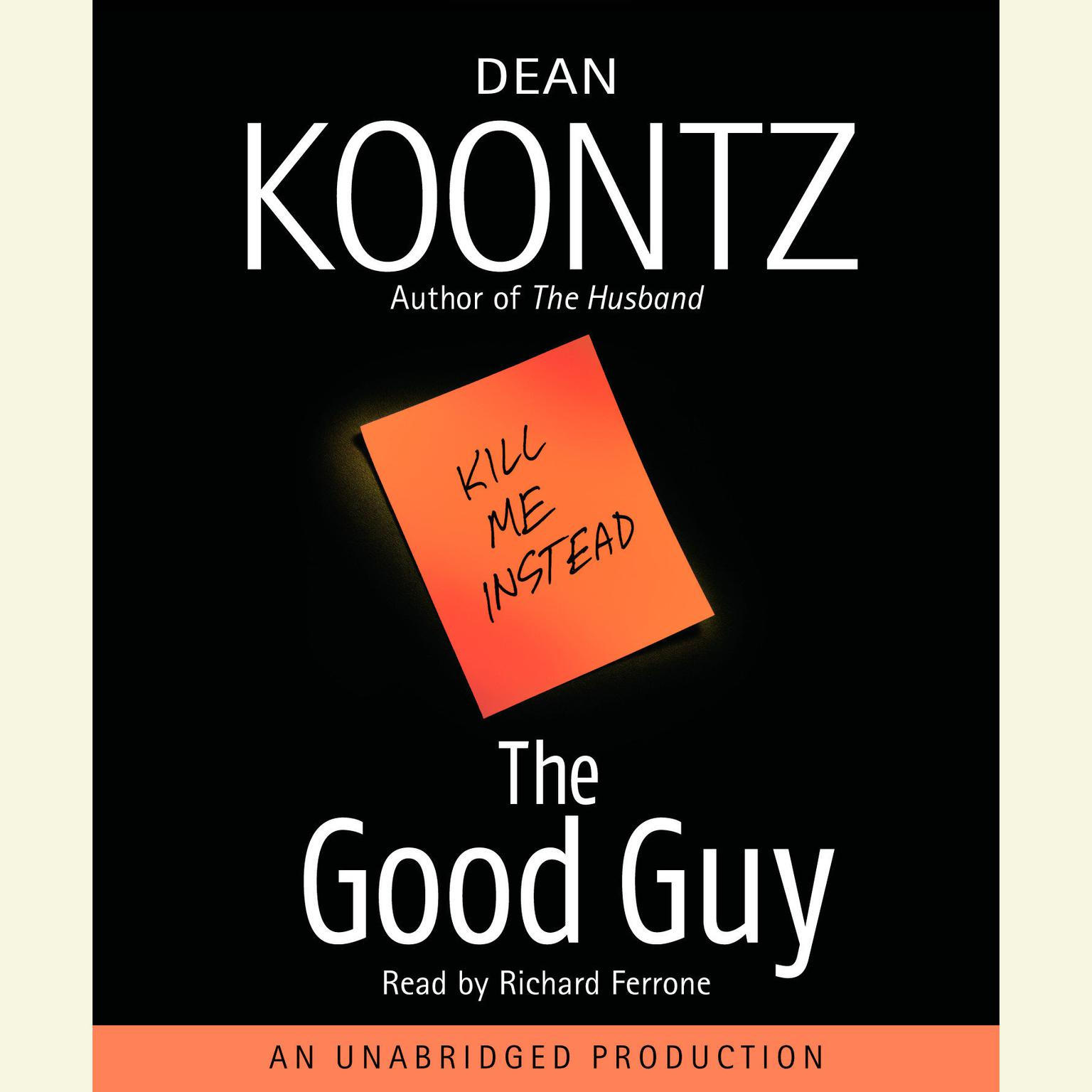 Printable The Good Guy Audiobook Cover Art